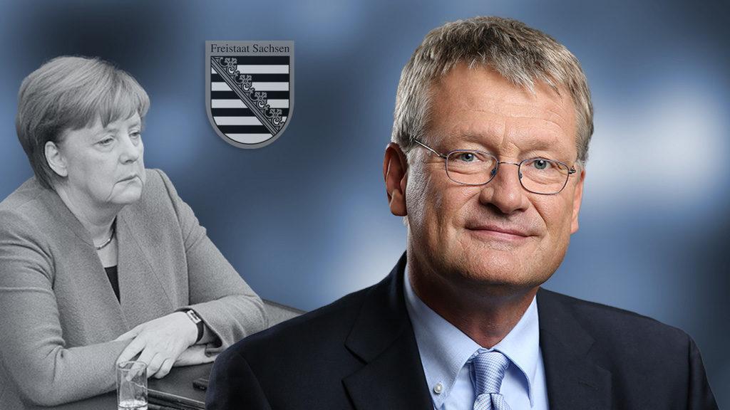 Jörg Meuthen: Merkel muss sich bei den Sachsen entschuldigen und Regierungssprecher Seibert entlassen
